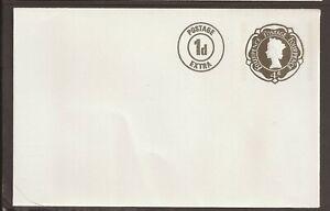 GB mint prepaid envelope. QEII.