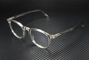 Tom Ford FT5401 020 Grey Clear Lens Plastic 51 mm Unisex Eyeglasses