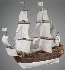 "Elegant, Complex Wooden Model Ship Kit by Dusek: the ""Nuestra Senora"""