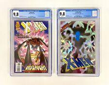 X-MEN  #53 & #54 CGC 9.8 PRISM FOIL 1996 Prismatic COLLECTOR'S EDITION (2 Books)