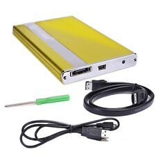 "Macally PHR-250A 2.5/"" USB 2.0 Slim Hard Drive HDD Enclosure ; UNT"