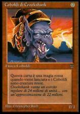 MTG CROOKSHANK KOBOLDS ITALIAN - POOR COBOLDI DI CROOKSHANK - LGND - MAGIC