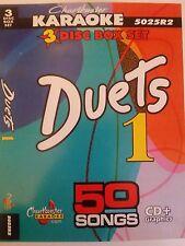 CHARTBUSTER KARAOKE CDG   DUETS  (5025R2)  3 DISC BOX SET  50 TRACKS   NEW