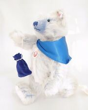Steiff bears*Steiff Blue Treasure Seeker Limited Edition Bear 30cm*Ean671975