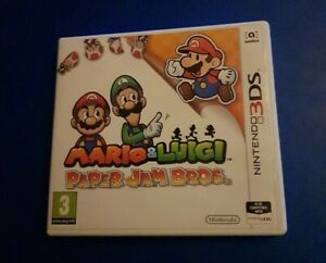 Mario and Luigi Paper Jam Bros Nintendo 3DS