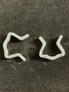 Divan Base Plastic U Clips for bed base 2 pack replacement clips