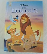 Hardcover STORY BOOK Walt Disney THE LION KING Mufasa Simba CHILDREN Boys Girls