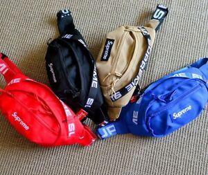 New Supreme Waist Sports Chest Bag Trendy Shoulder Bag Men's Women's Unisex 2021