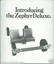 Ford Zephyr V6 Deluxe 1967 Original Brochure Excellent Condition