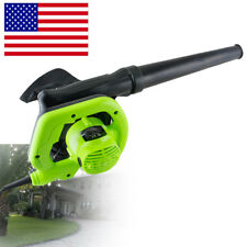 Electric Super Leaf Blower w/Vacuum Shredder Garden Lawn Trash Craftsman Sweeper