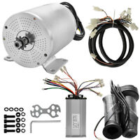1800W 48V Electric Brushless DC Motor w/ Speed Controller +Grip Wire Kit