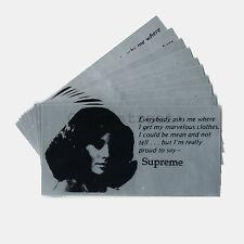 Supreme SS17 Mean Sticker (bulk of 10)