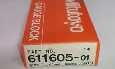 611605-01 Mitutoyo Einzel Endmass 1,45 mm