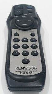 Genuine KENWOOD Remote Control Unit RC-517 Car Audio System AM FM Radio Volume