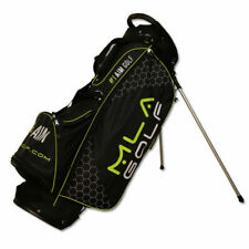 Mla Golf Stand Bag Black/White Carry/Walking #1 Aim in Golf Putters Brand New!