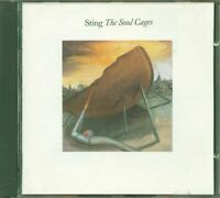 Sting - The Soul Cages Uk Early Nimbus Press Cd Ottimo