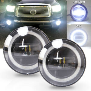 For 05-11 Tacoma/ 07-13 Tundra/ 08-18 Sequoia LED Bumper Fog Lights with DRL