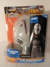 Star Wars Rebels THE INQUISITOR Costume w/Mask Kids Size 8-10 - Halloween - NEW
