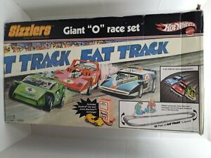 "*BOX ONLY* Mattel Hot Wheels Sizzlers Fat Track Big ""O"" Race Set (Pre~Owned)."