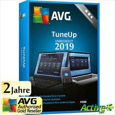 AVG TuneUp 2019 - UNBEGRENZT | Alle PC/Geräte | TuneUp Utilities 2 Jahre DE 2020