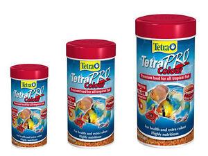 TETRA PRO COLOUR, multi crisp with colour concentrate,Premium quality, genuine