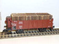 FLEISCHMANN H0  - 5216 K DRG Offener Güterwagen mit Holzladung -    X(EK-24)X