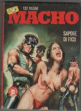MACHO edifumetto N.2 SAPORE DI FICO bruno marraffa