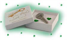 Schlüssel zum Glück Geschenk zur Prüfung Abschlussprüfung Glücksgeschenk Gravur