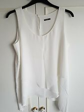 ladies Roman cream blouse size 14 layered new 14.00