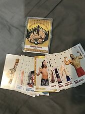 Superstars Of The Squared Circle Trading Cards Base Set!!