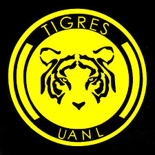 Tigres Uanl Circular Decal/Sticker Outdoor Resistant With Color Options
