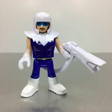 Imaginext DC Super Friends CAPTAIN COLD figure with freeze ray pack