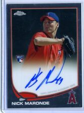 Nick Maronde 2013 Topps Chrome Rookie Certified Autograph Auto