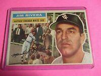 1956 Topps #70 Jim Rivera EXMT WB White Sox Nice ExMt - NrMt