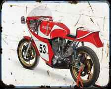 Ducati 750 Ss Corsa A4 Metal Sign Motorbike Vintage Aged