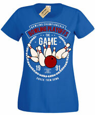 Bowling T-Shirt Championship gift bowlers Playoffs Womens Ladies