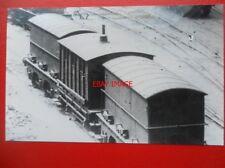 PHOTO  GWR BREAKDOWN TRAIN RIDING VANS STAFFORD RD WORKS WOLVERHAMPTON