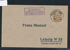 00045) Landpost Ra2 Labschütz über Trachenberg (Schlesien) DS 1937