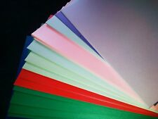 A4 Pearl / Shimmer Pearlescent Card mixed pack lucky dip 10 different colours