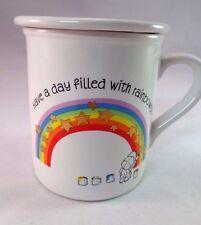 "Hallmark Mug Mates ""Have a Rainbow Day"" Mug Cover 1983 Japan Vintage Coffee Tea"