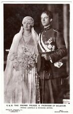 Belgian Wedding Collectable Royalty Postcards