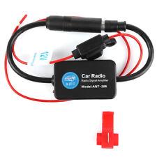 1Set 12V Car FM Radio Aerial Antenna Signal Reception Amp Amplifier Booster ABS