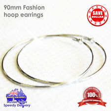 Unbranded Silver Plated Hoop Fashion Earrings