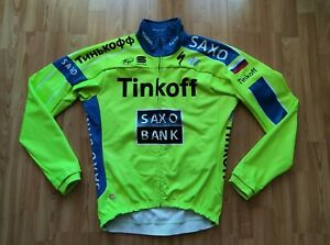 Tinkoff-Saxo Team men's Winter Gore Windstopper Thermal Cycling Jacket Size: XL