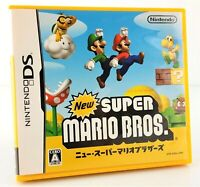 New Super Mario Bros - Jeu Nintendo DS JAP Japan complet