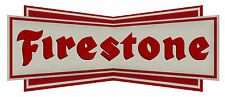 "FIRESTONE TYRES DIGITALLY CUT OUT VINYL STICKER. 6"" X 2.5"" OVERALL SIZE CODE1"