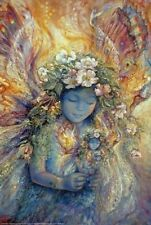 JOSEPHINE WALL ~ FAIRY DOLL 24x36 FANTASY ART POSTER Fairy's Fairies Faery