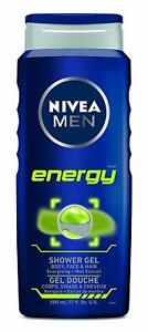 Nivea Men Energy Shower Gel 500ml  - Buy More & Save Money