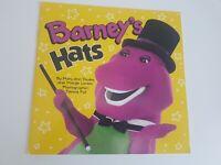 Barney Hats Dinosaur Children's Paperback Book Vintage