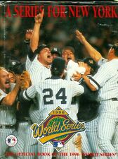 A Series for New York: The Official Book of the 1996 World Series Yankees HCw/DJ